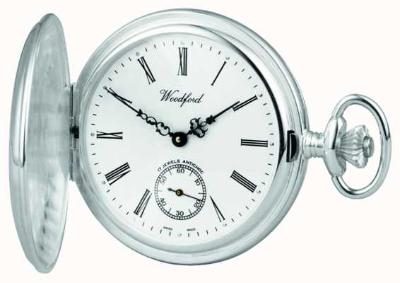 Woodford Silver Full Hunter Pocketwatch 1064