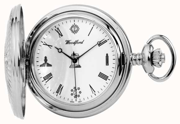 Woodford Masonic Stainless Steel Pocket Watch 1227