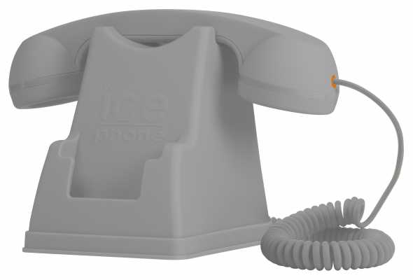 Ice-Watch Retro Grey Mobile Phone Handset Station IPF.SR