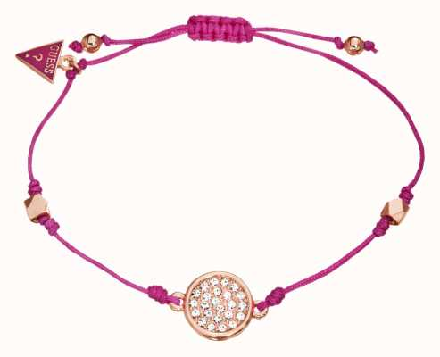 Guess String Me Along Bracelet UBB11336