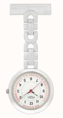 Rotary Nurses Fob Watch Stainless Steel LPI00616