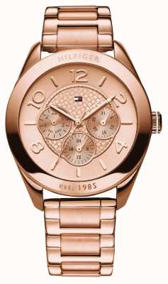 Tommy Hilfiger Womens' Gracie Rose-Gold-Plate Watch 1781204