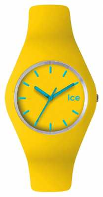 Ice-Watch Unisex Silicon Slim Yellow/ Turquoise ICE.YW.U.S