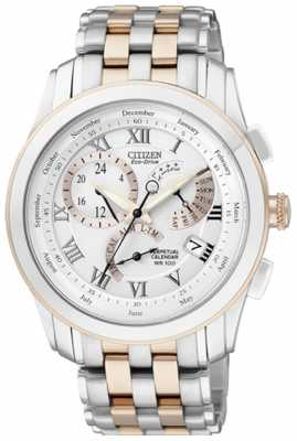 Citizen Men's Two-Tone 8700 Calibre Perpetual Calendar Watch BL8106-53A