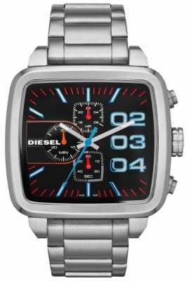 Diesel Diesel Franchise Stainless Steel Black Dial Watch DZ4301