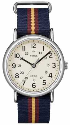 Timex Men's Weekender Watch With Cream Dial T2P234