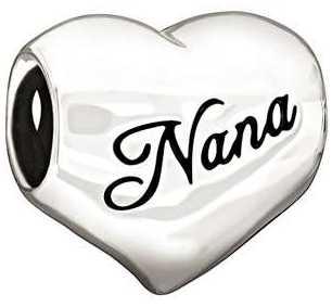 """Chamilia Sterling Silver - """"I Love Nana"""" 2010-3131"""
