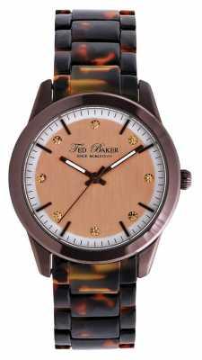 Ted Baker Womens Tortoiseshell Bracelet Watch TE4081
