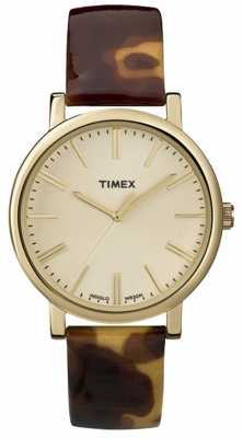 Timex Ladies' Classic Gold Tone Watch T2P237