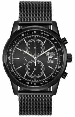 Luminox Mens Recon Point man Black Dial Black Canvas Strap Watch A.8824.MI