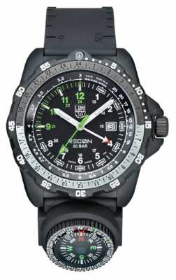 Luminox Mens Recon Nav SPC Black & Green Watch A.8832.MI