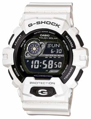 Casio Men's White Resin Solar Powered Watch GR-8900A-7ER