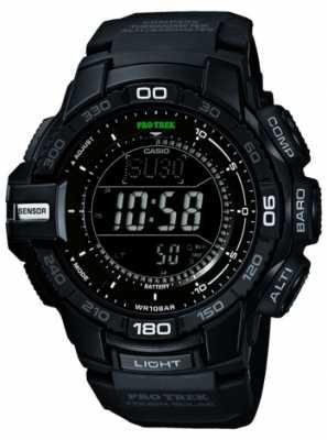 Casio Men's Pro Trek Black Resin Watch PRG-270-1AER
