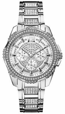 Guess Womens' Intrepid 2 Stainless Steel Watch W0286L1