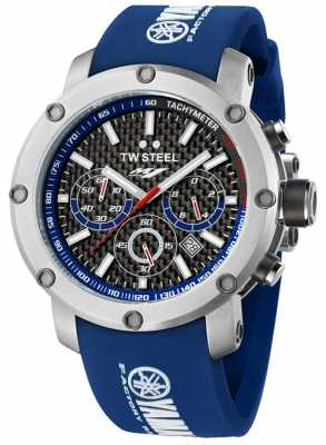 TW Steel Men's Yamaha Factory Racing Edition Stainless Steel Blue Watch TW0925