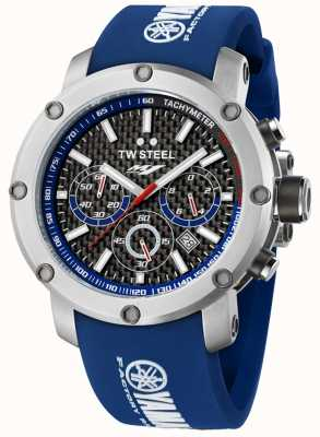 TW Steel Mens Yamaha Factory Racing Edition Stainless Steel Blue Watch TW0925