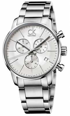 Calvin Klein Men's City Stainless Steel Chronograph K2G27146