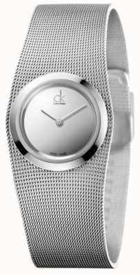 Calvin Klein Womens' Impulsive Watch | Stainless Steel Mesh Strap | K3T23128