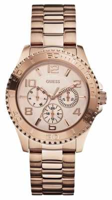 Guess Womens' BFF Rose Gold Watch W0231L4