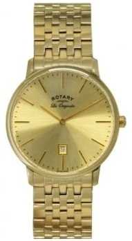 Rotary Men's Kensington Les Originales Gold Plate Watch GB90052/03