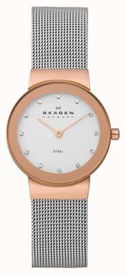 Skagen Freja Ladies Metal Bracelet Watch 358SRSC
