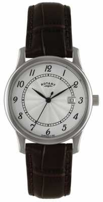 Rotary Men's Classic Dress Watch With Silver Dial GS00792/22