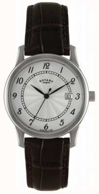 Rotary Mens Classic Dress Watch With Silver Dial GS00792/22
