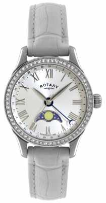 Rotary Womens Beaumont, Moonphase, Crystal Watch LS02849/01