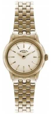 Rotary Womens Verona, Gold Plate, Champagne Dial LB02573/01