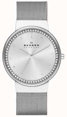 Skagen Ladies Klassik Silver Mesh Watch SKW2152