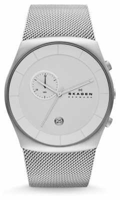 Skagen Men's Klassik Chronograph Mesh Bracelet Watch SKW6071