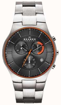 Skagen Mens Aktiv Titanium Watch SKW6076