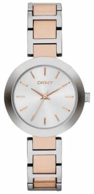 DKNY Womens' Stanhope Rose Gold & Stainless Steel Watch NY2136