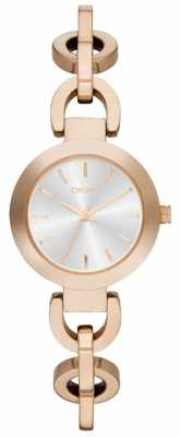 DKNY Womens' Stanhope Rose Gold Watch NY2135