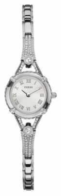 Guess Womens' Angelic Stainless Steel Crystal Set Watch W0135L1