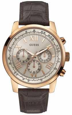 Guess Men's Horizon Rose Gold Chronograph W0380G4