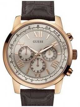 Guess Men's Horizon Rose Gold Chronograph W0380G4