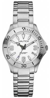 Nautica Nautica Ladies Silver NAC 102 Watch A13504