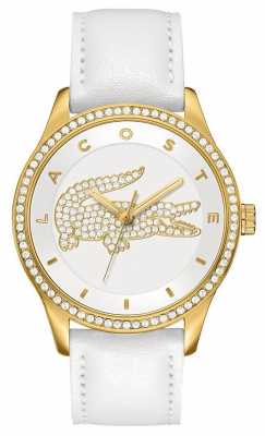 Lacoste Ladies' Victoria Gold Stone Set Watch 2000820