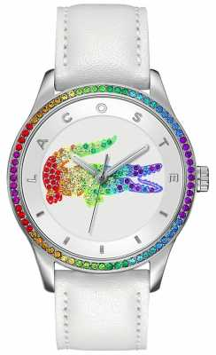 Lacoste Victoria Multicolour White Watch 2000822