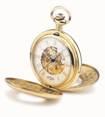 Rotary Mens Mechanical Pocket Watch MP00713/01