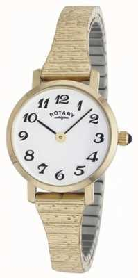 Rotary Womens Classic Gold Bracelet Watch LBI00762