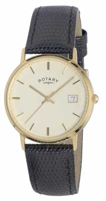 Rotary Mens Gold Watch GS11476/03