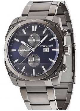 Police Men's Milano Gunmetal Watch 14099JSU/03M