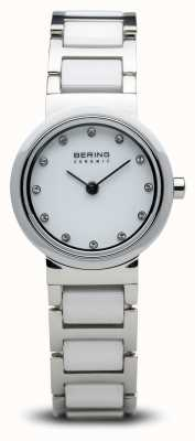 Bering Dual Tone Ceramic Watch Minimalist 10725-754