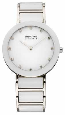 Bering Ceramic & Metal Bracelet Watch 11435-754