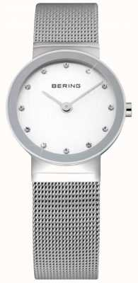 Bering Time Ladies Silver Mesh Watch 10126-000