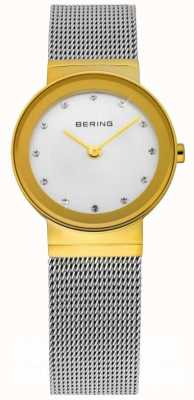 Bering Time Ladies Silver Mesh Watch 10126-001
