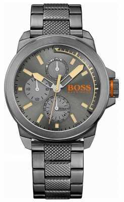 Hugo Boss Orange Mens New York All Black Watch 1513004