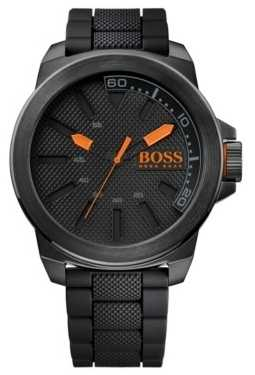 Hugo Boss Orange Men's New York All Black Watch 1513004